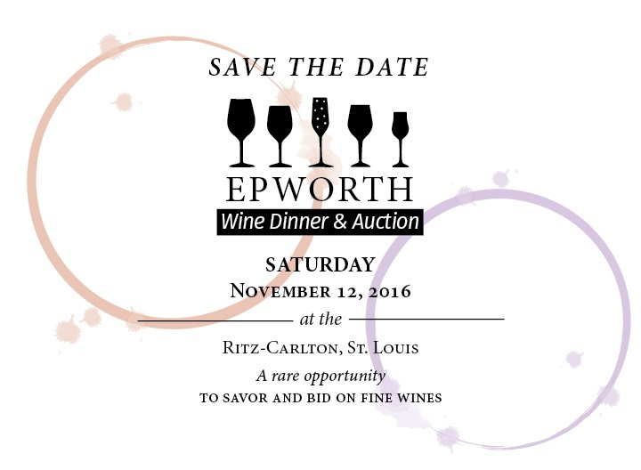 2016 Wine Dinner Save the Date for November 12, 2016