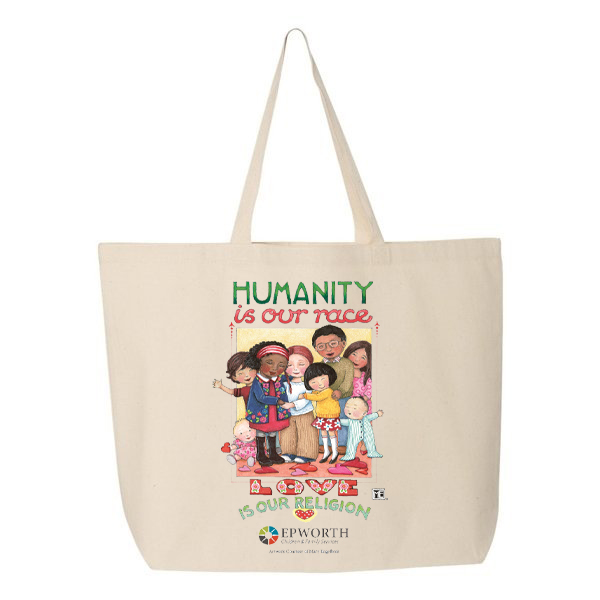 149ee88690f Mary Engelbreit Collection Canvas Tote Bag - Epworth Children and ...